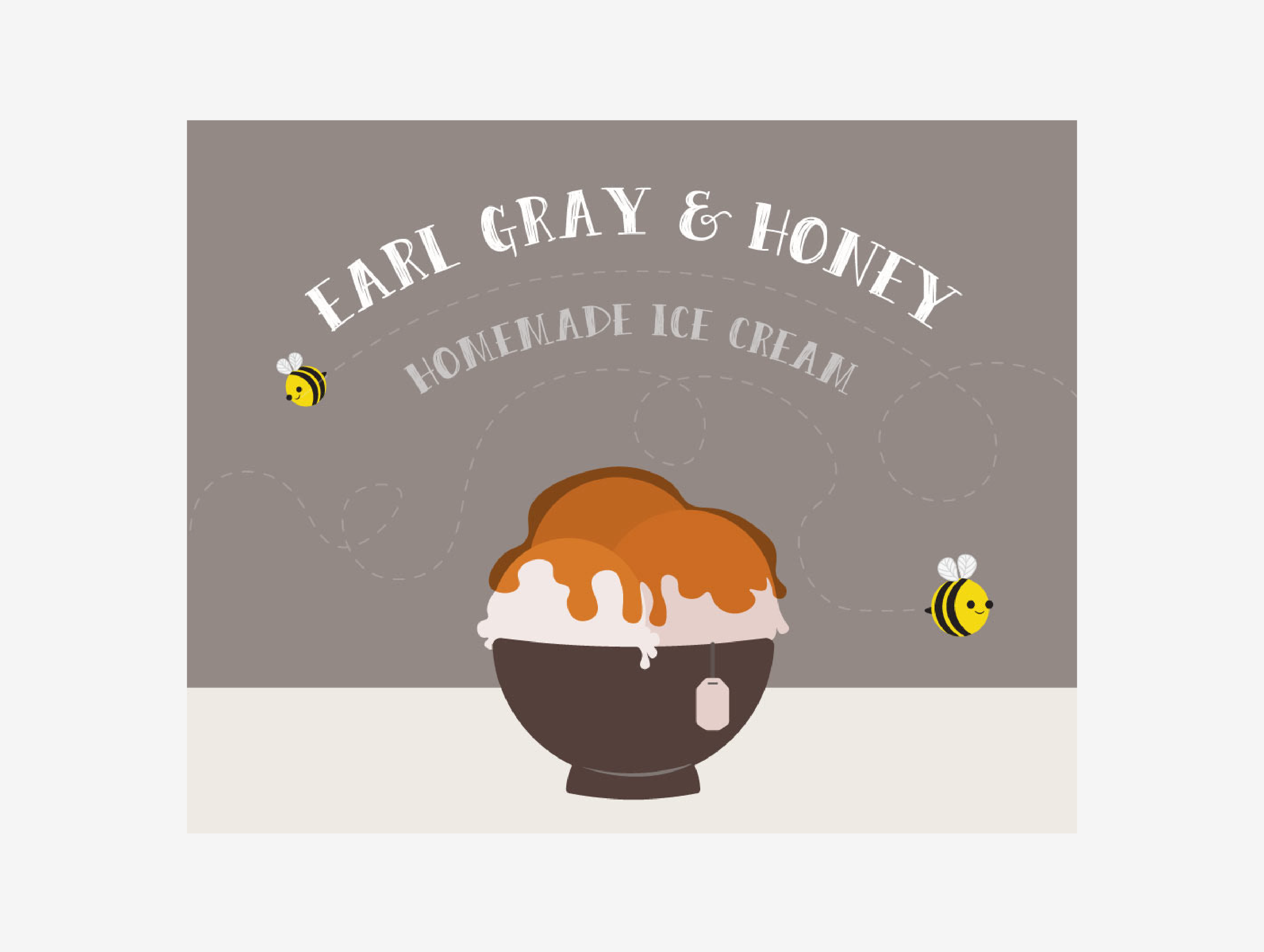 Earl Gray Honey Ice Cream